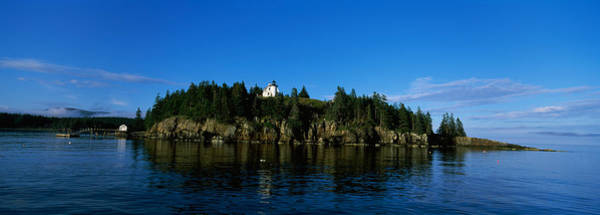 Mount Desert Island Photograph - Island In The Sea, Bear Island by Panoramic Images