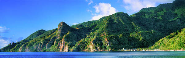 Saint Lucia Photograph - Island In The Sea, Soufriere, Saint by Panoramic Images