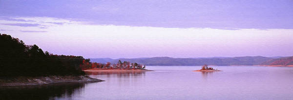 Photograph - Island In The Setting Sun by Richard Smith