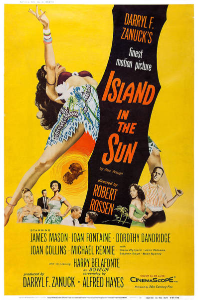 Island In The Sun, Us Poster Art Art Print