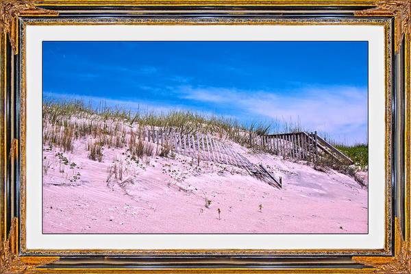 Fence Mixed Media - Island Inspiration by Betsy Knapp