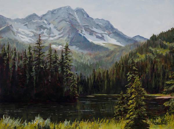 Painting - Island Lake by Mary Giacomini