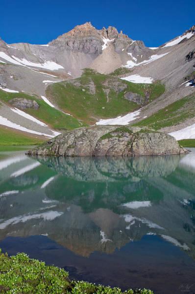 Wall Art - Photograph - Island Lake Reflection by Aaron Spong
