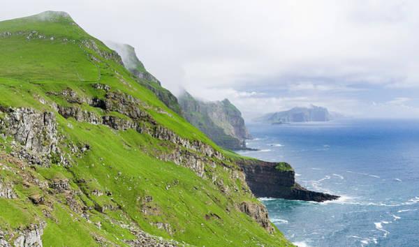 Archipelago Photograph - Island Mykines, Faroe Islands by Martin Zwick