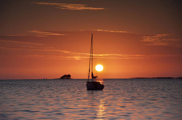 Photograph - Island Sunset by Bill Cannon