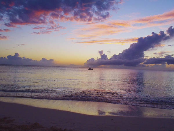 Isla Mujeres Photograph - Island Sunset by Carey Chen