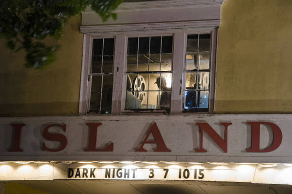 Photograph - Island Theater by Steve Myrick