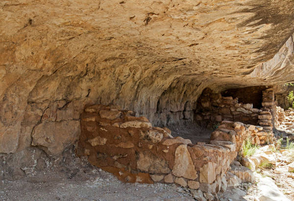 Photograph - Island Trail Ruin In Walnut Canyon National Monument by Fred Stearns
