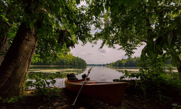 Kayak Photograph - Island View by Everet Regal