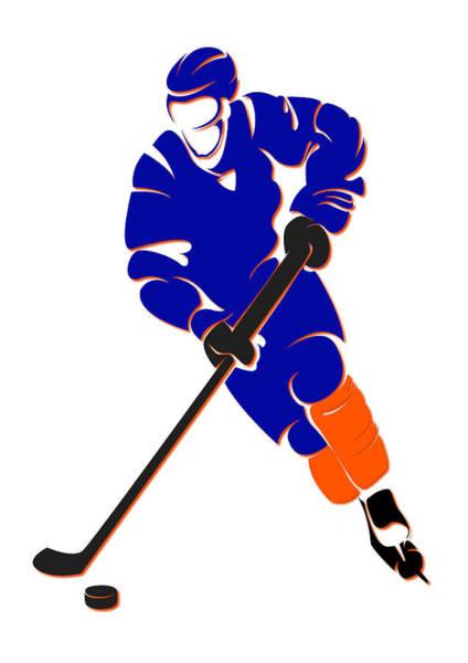 New York Islanders Photograph - Islanders Shadow Player by Joe Hamilton