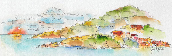 Painting - Islands In The Sun by Pat Katz