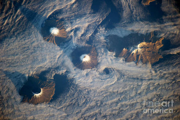Photograph - Islands Of Four Mountains by Science Source
