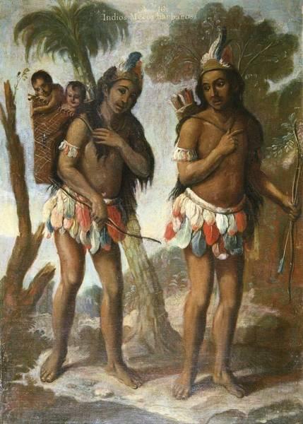 Indio Photograph - Islas, Andr�s De 18th C.. Barbarian by Everett