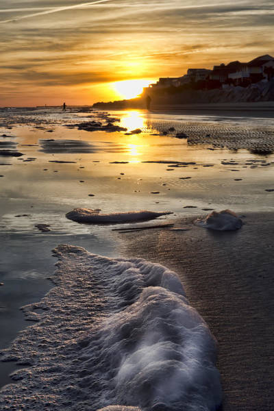 Photograph - Isle Of Palms And Sea Foam by Evie Carrier