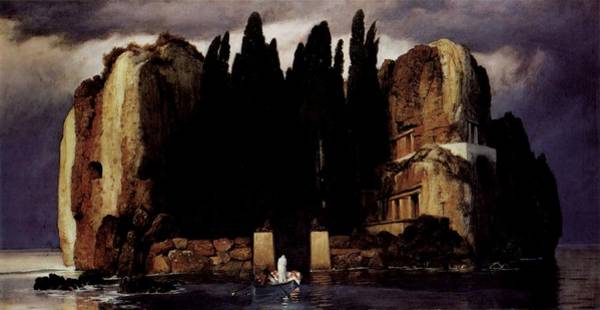 Painting - Isle Of The Dead by Arnold Brocklin
