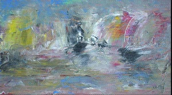 Conceptualism Painting - Islet by Dmitry Kazakov