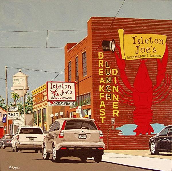 Isleton Joe's Art Print by Paul Guyer