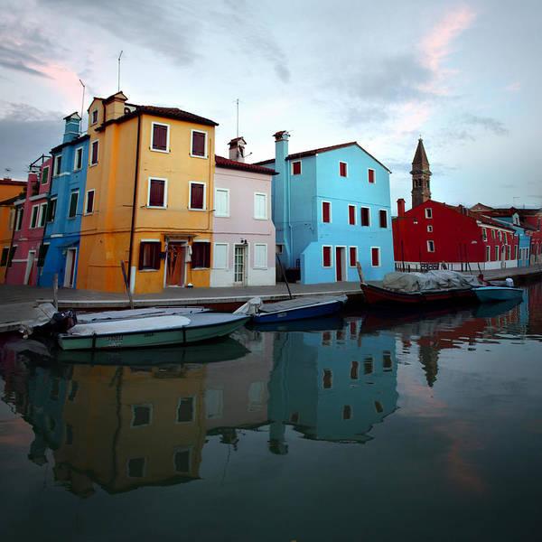 Isola Wall Art - Photograph - Isola Di Burano by Alexander Kuzmin