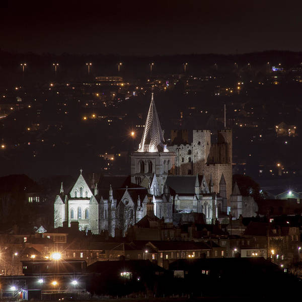 Rochester Photograph - Isolated Cathedral by Nigel Jones
