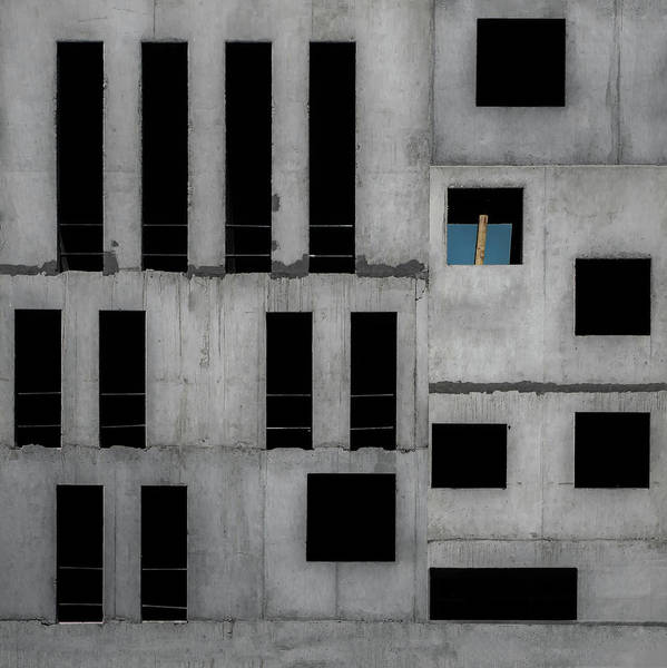 Facade Photograph - Isolation Cell by Gilbert Claes