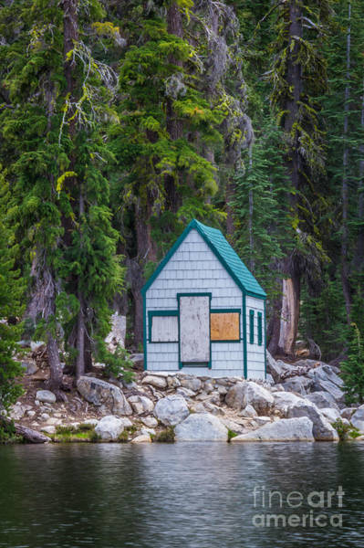 Cabin In The Woods Wall Art - Photograph - Isolation by Mitch Shindelbower