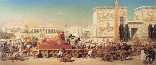 Wall Art - Painting - Israel In Egypt by Edward John Poynter