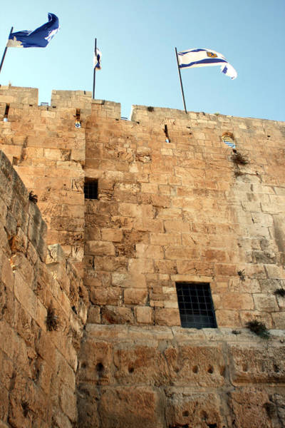 Photograph - Tower Of David by Doc Braham