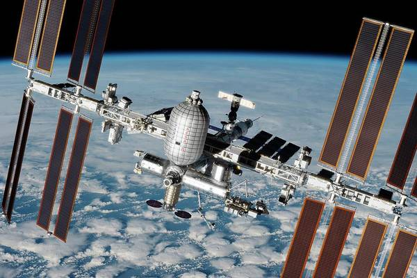 Wall Art - Photograph - Iss Inflatable Habitat by Nasa/walter Myers/science Photo Library
