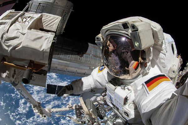 21st Century Photograph - Iss Spacewalk by Nasa