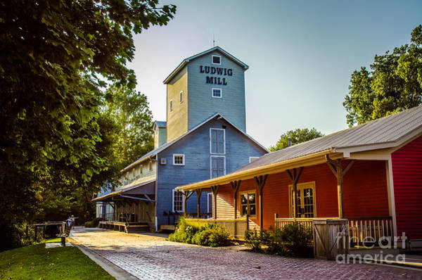 Photograph - Issac Ludwig Mill 2 by Michael Arend