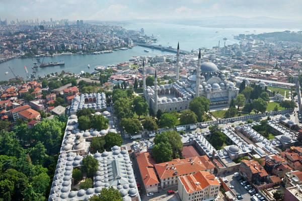 Suleymaniye Mosque Photograph - Istanbul by Ugurhan Betin