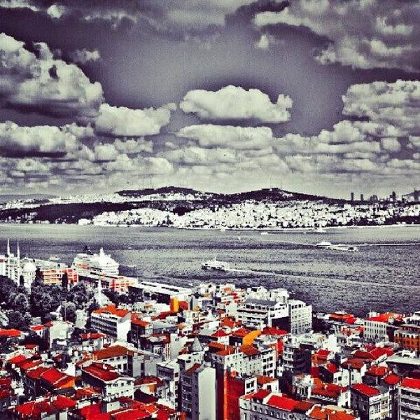 Romantic Wall Art - Photograph - Istanbul View by Ernesto Cinquepalmi