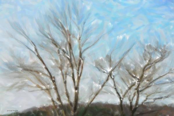 Painting - Winter by Gerlinde Keating - Galleria GK Keating Associates Inc
