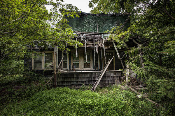 Photograph - It Was Once Christmas Here by Gary Heller