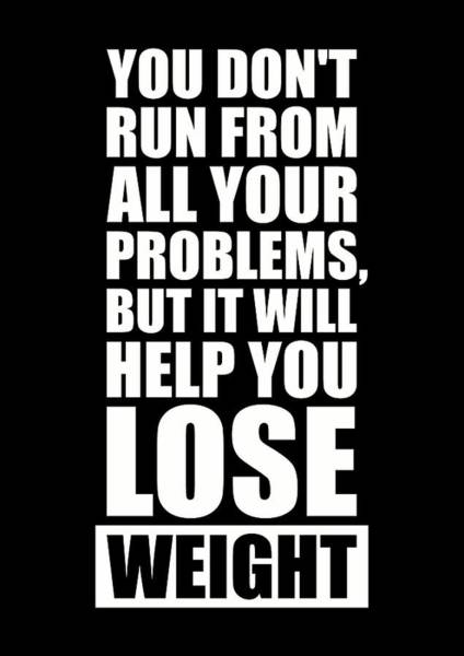 Wall Art - Digital Art - It Will Help You Lose Weight Gym Workout Quotes Poster by Lab No 4 - The Quotography Department