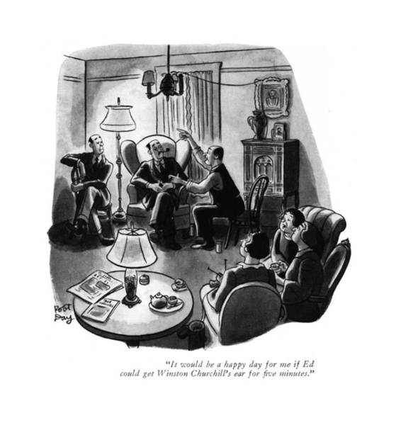 Goals Drawing - It Would Be A Happy Day For Me If Ed Could Get by Robert J. Day
