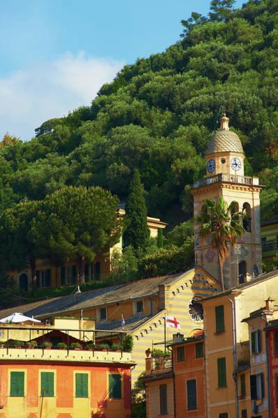 Portofino Photograph - Italian Belltower In Portofino by Roman Makhmutov