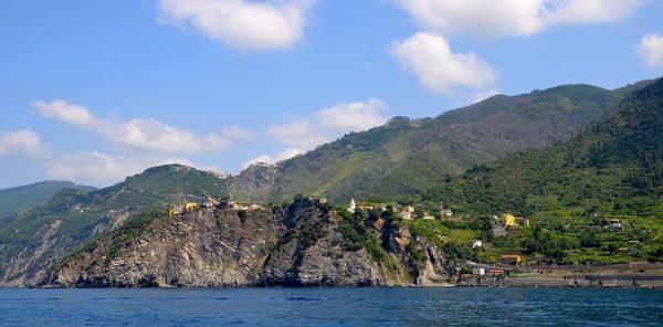 Levante Wall Art - Photograph - Italian Coastline by Corinne Rhode