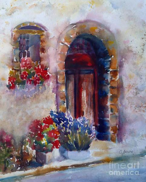 Painting - Italian Door by Carolyn Jarvis