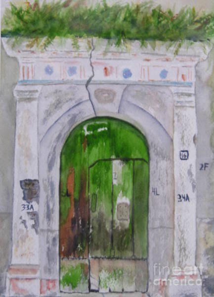 Painting - Italian Doors by Peggy Dickerson