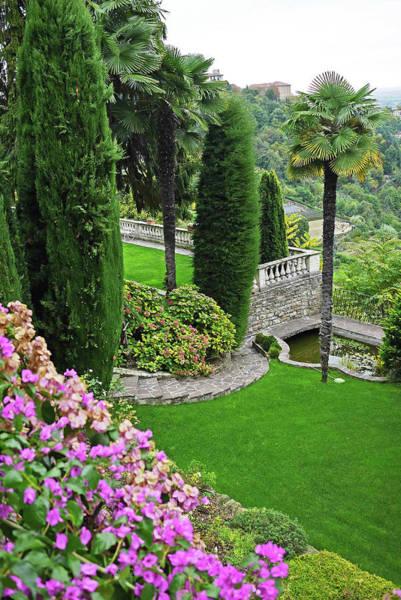 Vertical Garden Photograph - Italian Garden by Rosmarie Wirz