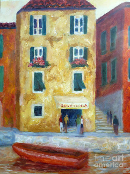 Painting - Italian Gelateria by Carolyn Jarvis