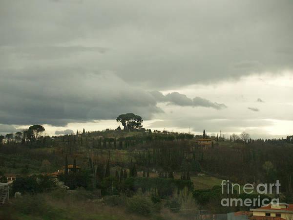 Photograph - Italian Hillside by Robin Maria Pedrero