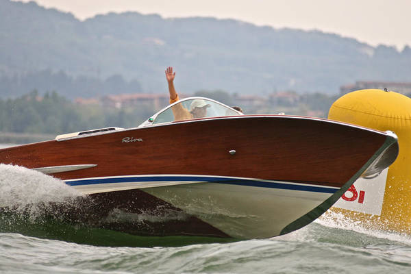 Photograph - Italian Riva Olympic by Steven Lapkin