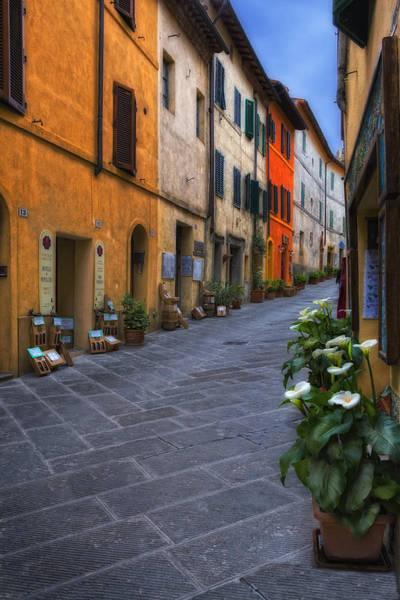 Photograph - Italian Shops by Bob Coates