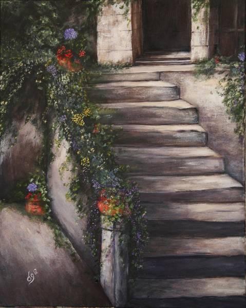 Italian Steps Art Print