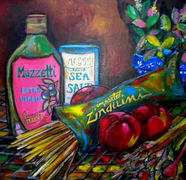 Painting - Italian Still by Patti Schermerhorn