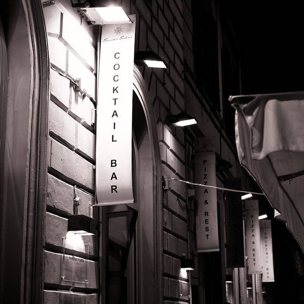 Photograph - Italian Street Restaurant by Brad Brizek