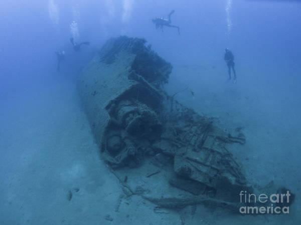 World Class Photograph - Italian Submarine Scire Wreck by Hagai Nativ