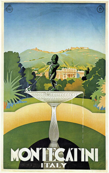 Painting - Italian Travel Poster, 1925 by Granger